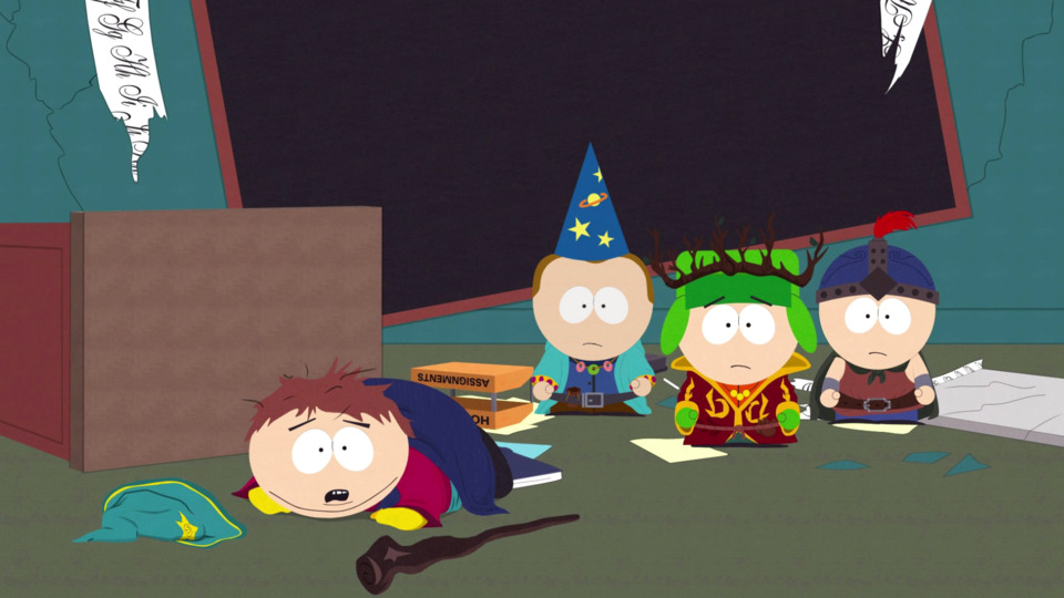 """3 bucks for 20 minutes"", said Cartman."