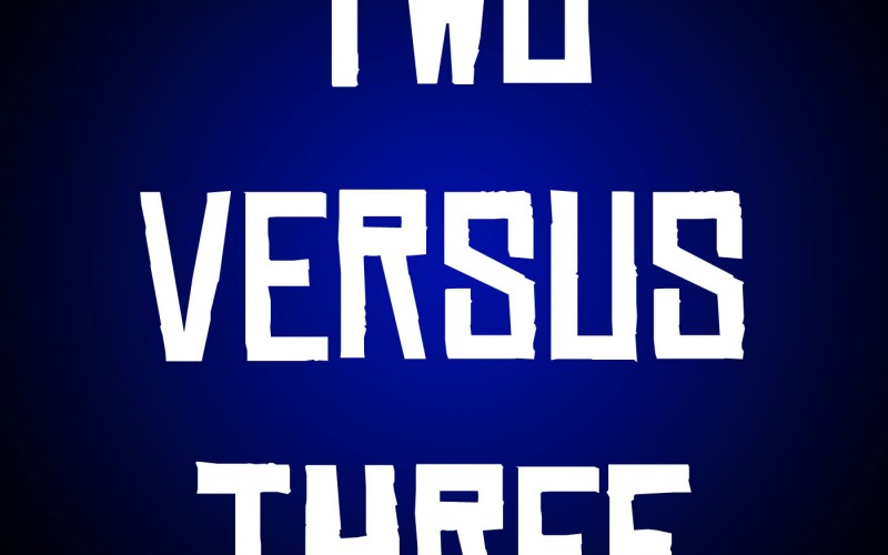 Two Versus Three – Episode 8: Terrible Movies VS Terrifying Fruit